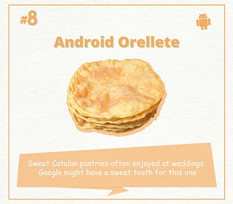 Google apresenta Android com nome de bolacha