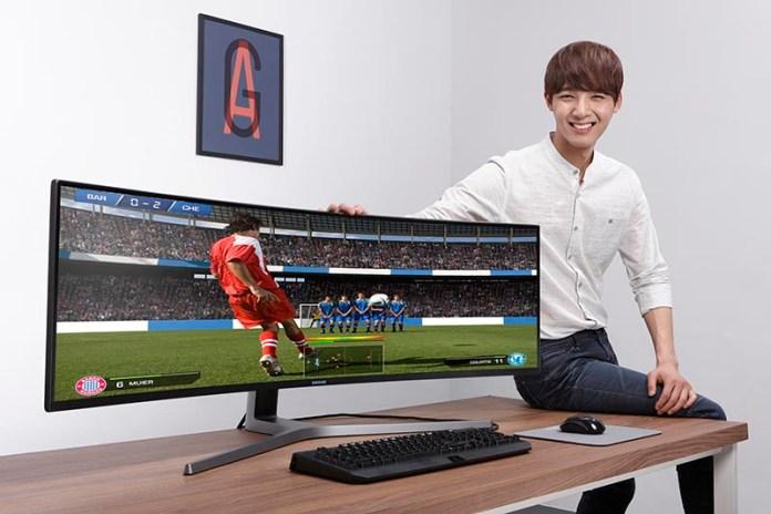Samsung CHG90 gaming monitor IMAX CHG90