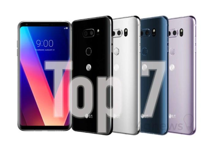 LG V30 Top 7 smartphone
