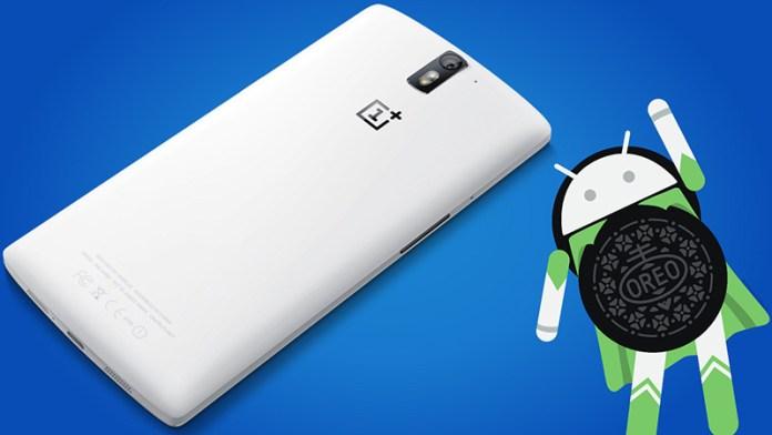 OnePlus One Android Oreo