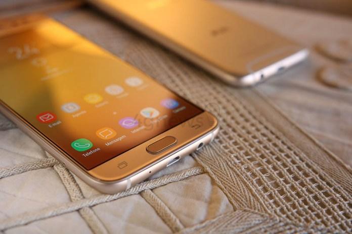 Samsung Galaxy J5 Android Oreo Google Samsung Galaxy J5 (2017) Samsung Galaxy J7 (2017) 4gnews Review Análise Smartphone