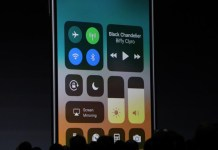 Apple iOS 11 Control Center