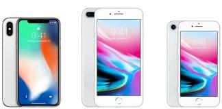 Apple iPhone X iPhone 8 Plus
