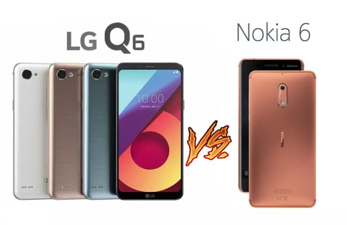 LG Q6 vs Nokia 6 - O verdadeiro duelo de titãs. Quem sai vencedor?