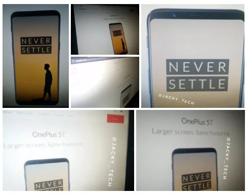 OnePlus 5T site oficial OnePlus 5