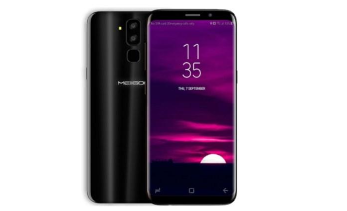 MEIIGOO S8 (140€) - Até nos botões de navegação parece um Galaxy S8