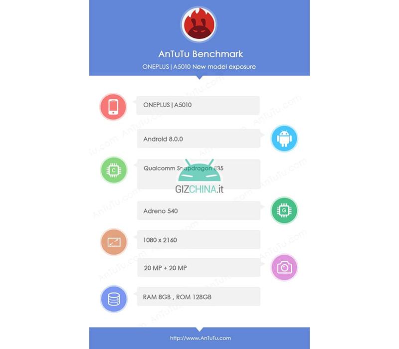 OnePlus 5T deve ser lançado no final de novembro