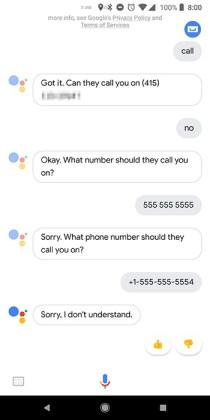 Google Pixel 2 XL Google Assistant 1