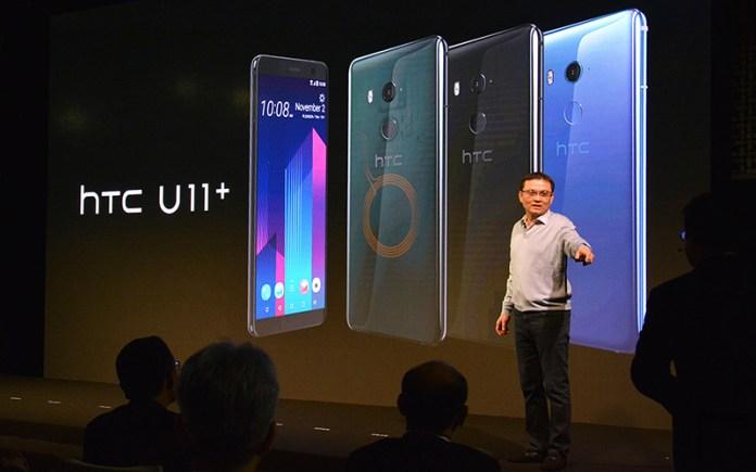 2018 smartphones dual-câmara HTC U11+
