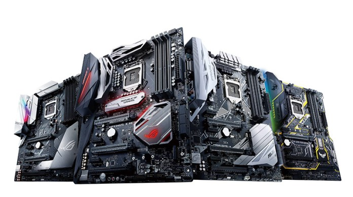 Motherboards ASUS Z370