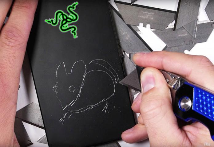 durabilidade Razer Phone teste smartphone
