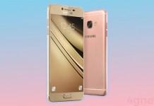 Samsung Galaxy C7 Android Nougat