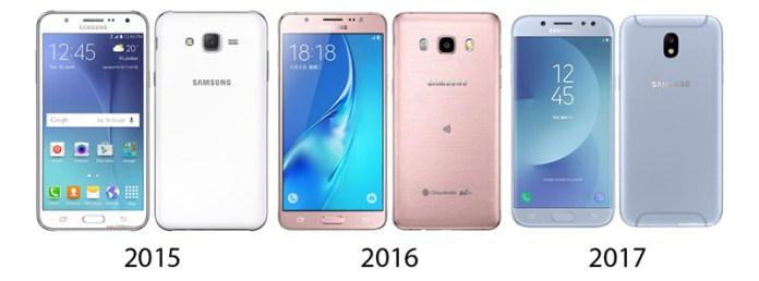 Samsung Galaxy J5 2015 Android Nougat