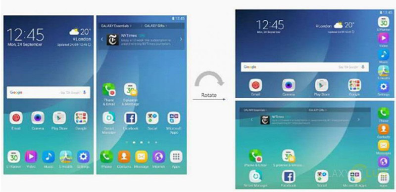 Samsung Galaxy X Smartphone Android 1