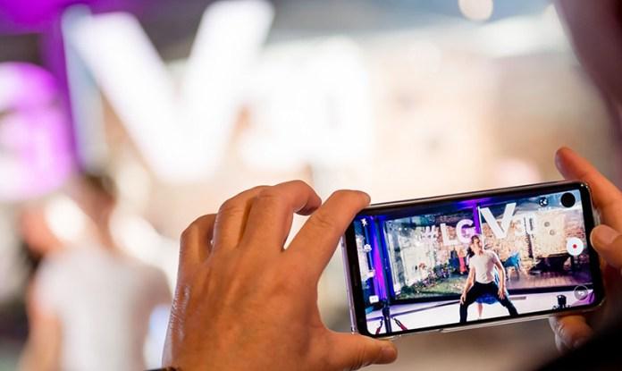 LG V30 Android Smartphone operadoras