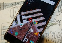 OnePlus 5T Google Chrome Opera