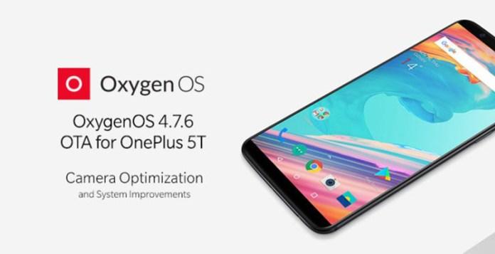 OnePlus 5T OxygenOS v4.7.6