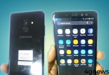 Samsung Galaxy A8 2018 vídeo