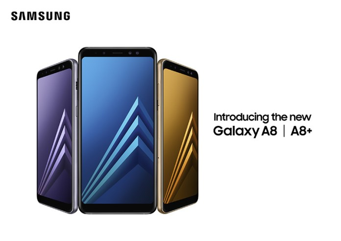 Samsung Galaxy A8 2018 smartphone Android