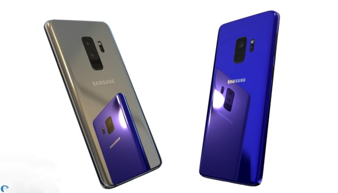 Samsung Galaxy S9 smartphone Android