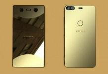 Sony Xperia bezel-less smartphone