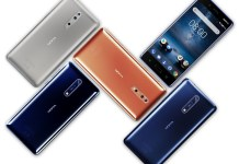 Sirocco Android Oreo 8.1 Nokia 8 foto