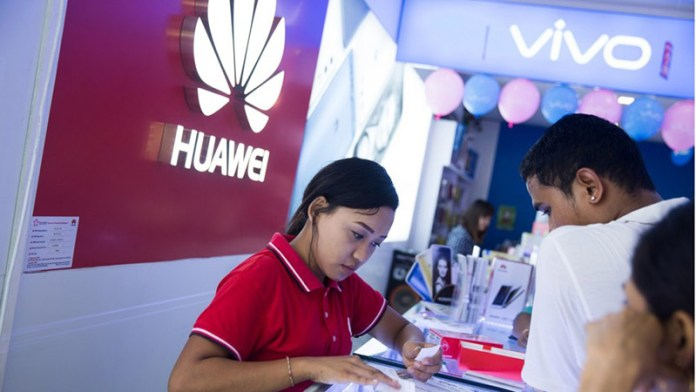 Huawei crescer smartphones Android