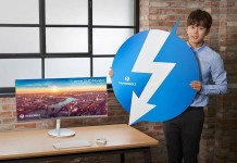 Samsung monitor Thunderbolt