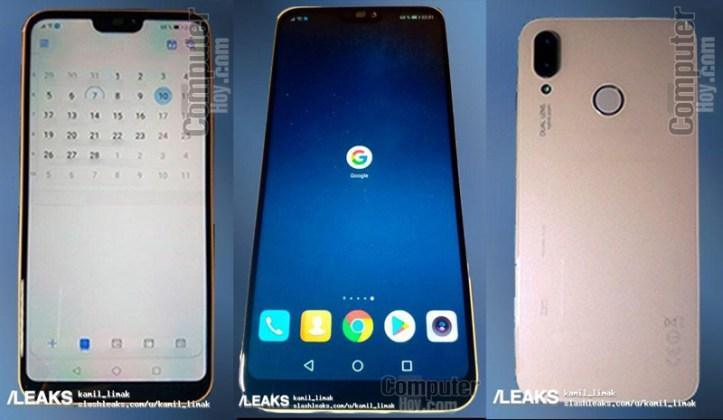 Huawei P20 Lite smartphone Android Huawei P20 Lite apple iPhone X