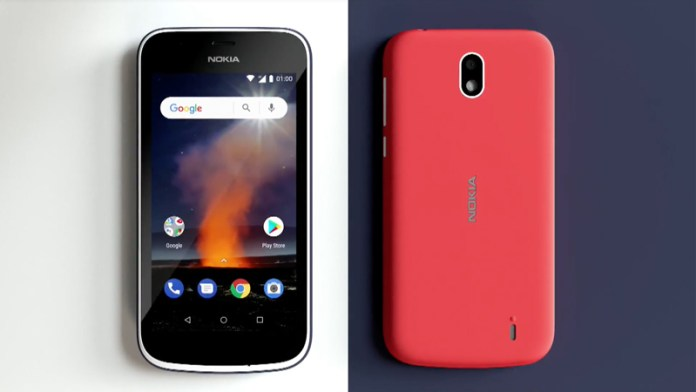 Nokia 1 Android MWC Android Go