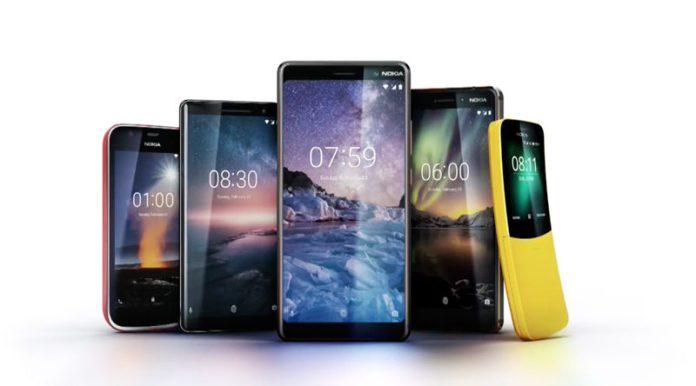 Nokia 9 Nokia 8 Sirocco Android mercado Google