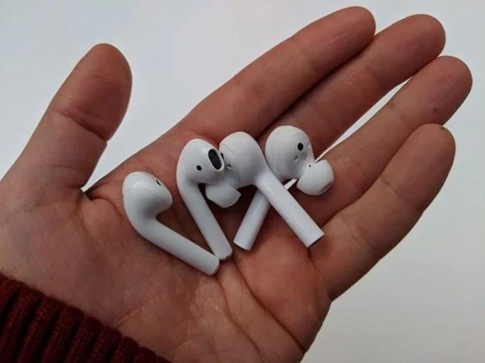 AirPods da Apple Huawei FreeBuds