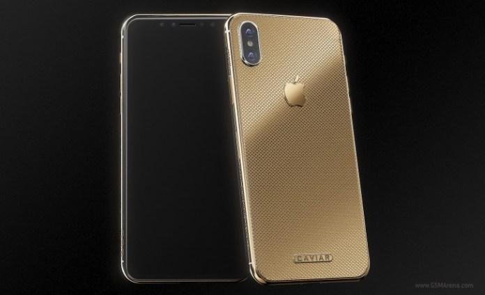 """Apple: Já podes ter um iPhone X em dourado por """"apenas"""" 4500€"""