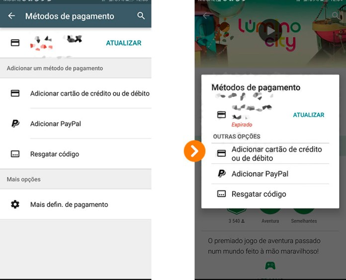 Dica Android Google Play Store