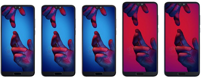 Huawei P20 Twitter características