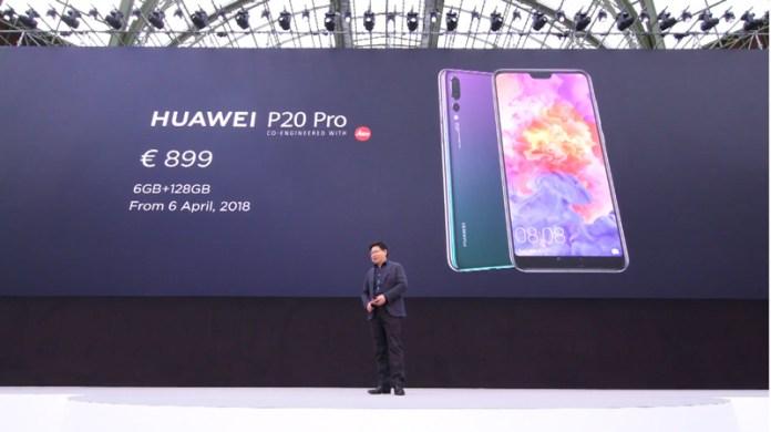 Huawei P20 Pro câmara tripla Android Oreo Huawei P10