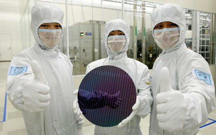 Samsung Galaxy Android Oreo RAM memória chip stock de memória