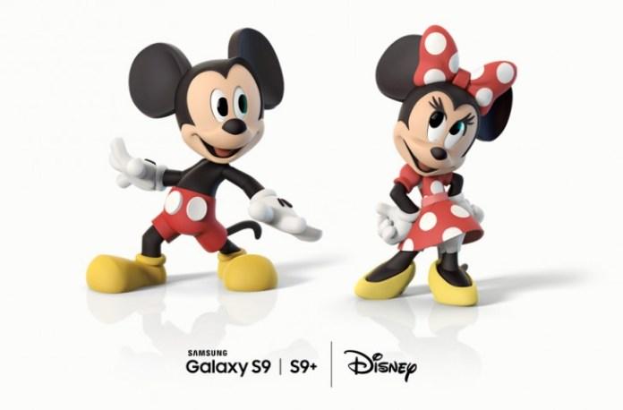 Samsung Galaxy S9 Disney Android Oreo Mickey