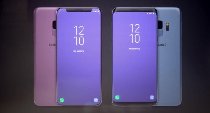 Samsung Galaxy S9 notch Apple iPhone X 4
