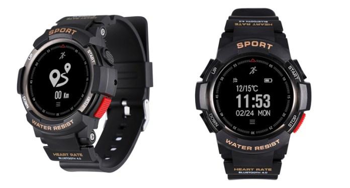 Smartwatch NO.1 F6 por 26€ é uma boa aposta para desportos Outdoor