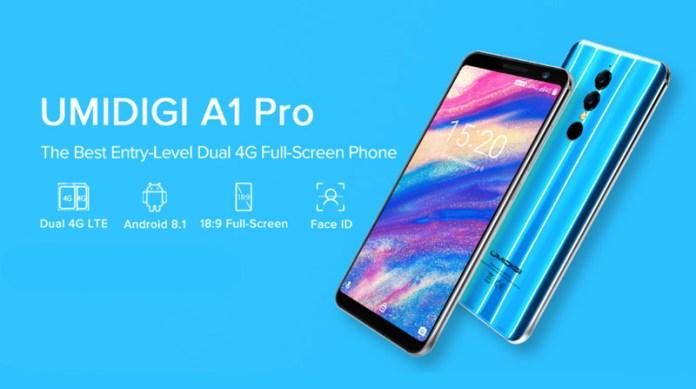 Android. Por 82€ dificilmente encontras melhor que o Umidigi A1 Pro