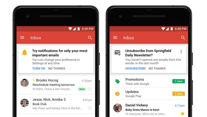Inteligência Artificial novo Gmail da Google Android iOS