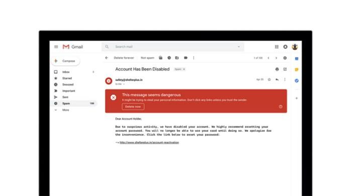 Gmail da Google Android iOS