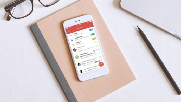 Gmail da Google correio eletrónico novidades novo Gmail
