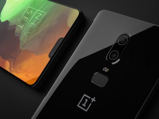 OnePlus 6 smartphone Android Oreo