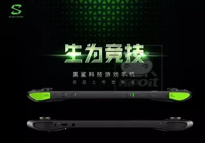 smartphone Android para jogos Xiaomi Black Shark Android smartphone para jogos
