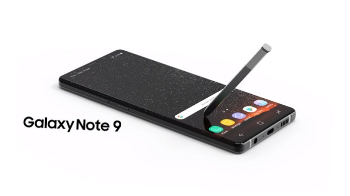 Samsung Galaxy Note 9 Android