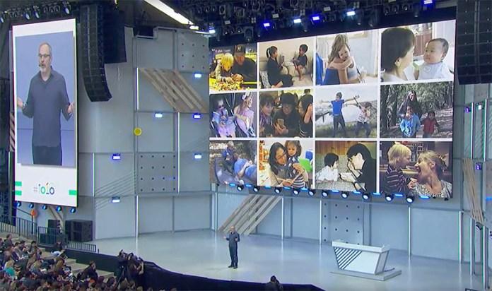 Google Photos Google Assistant Google I/O 2018