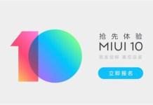 MIUI 10 Beta fechada Android Xiaomi