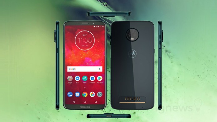 Motorola Moto Z3 Play Android Oreo